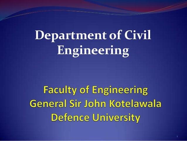 Civil department presentation