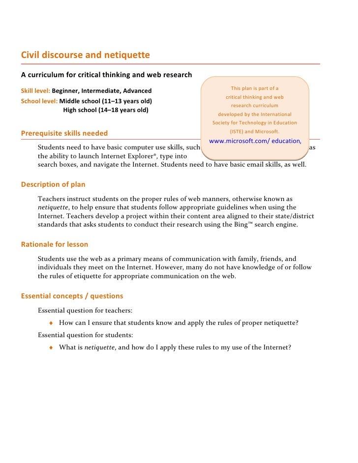 Civil discourse lesson_plan
