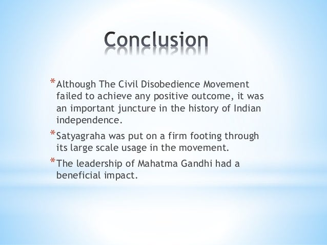 "essay on civil disobedience movement in india Civil disobedience essay civil disobedience: ""refusal to obey civil laws in an effort the leader of india's nationalist movement."