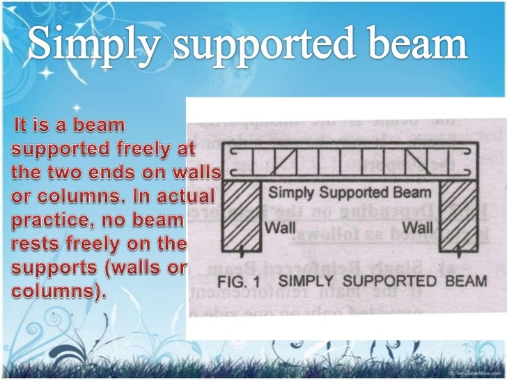 simply supported beam Find reactions of simply supported beam when a point load of 1000 kg and a uniform distributed load of 200 kg/m is acting on it as shown in figure below.