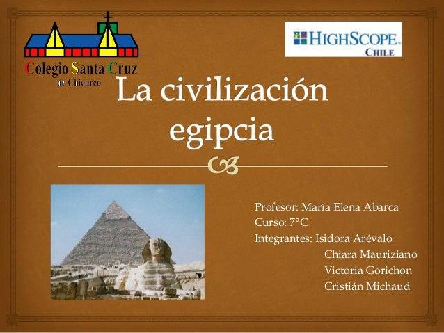 Profesor: María Elena Abarca Curso: 7°C Integrantes: Isidora Arévalo Chiara Mauriziano Victoria Gorichon Cristián Michaud