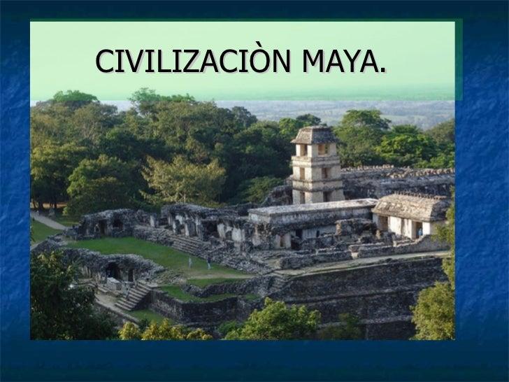Cultura maya for Informacion de la cultura maya