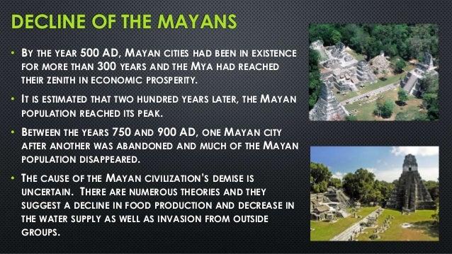 disappearance of the maya civilizationi