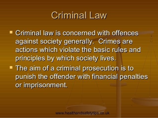 civil law and criminal law Good day readers thru this essay, i will try to explain and point out the differences between civil and criminal cases the legal system used in the.