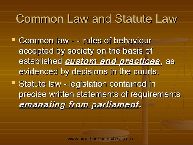 the history of common law in england British history, 2: the origins of common law  in england the key reign was that of henry ii (1154-89), when the royal treasury (the exchequer) and permanent .