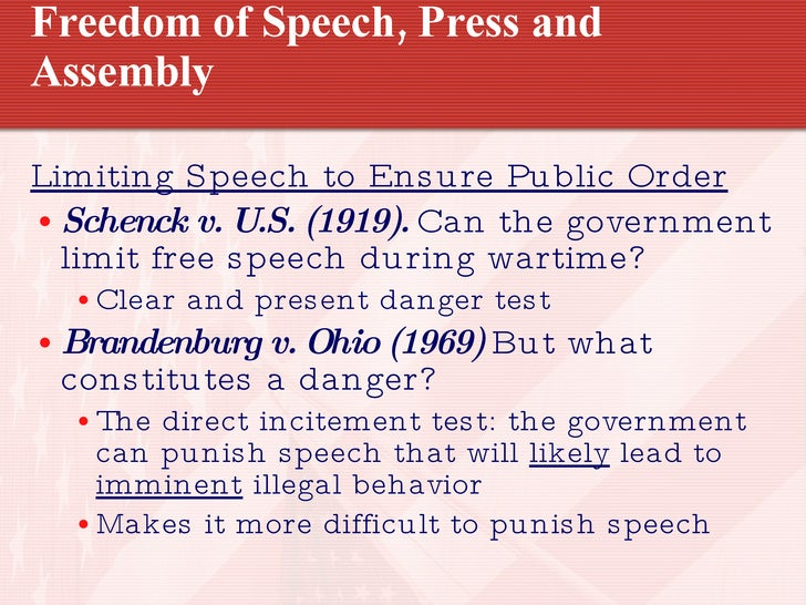 the legal rights to repress free speech to avoid abuse of speech Human rights the limits of free speech buffer zones around abortion clinics that prevent anti some current legal restrictions on free speech are not on.