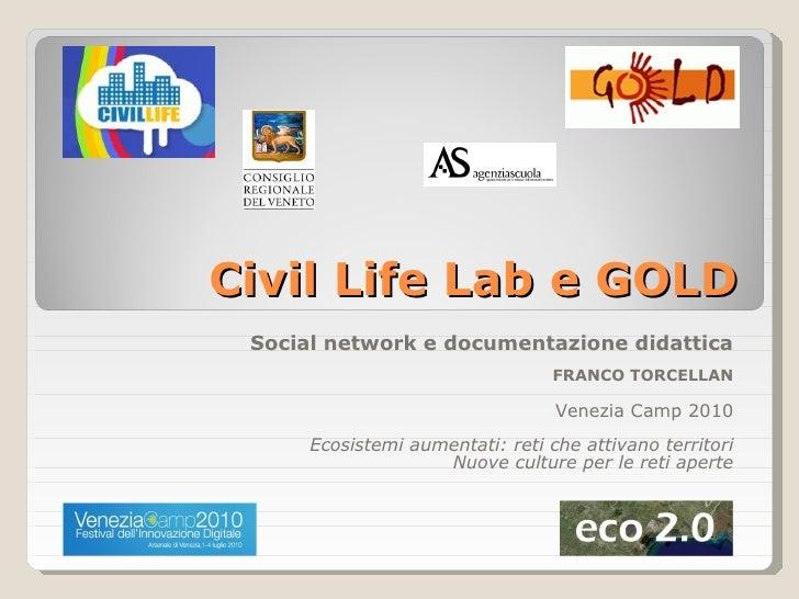 Civil Life Lab - Venezia Camp 2010