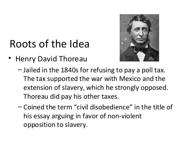 FREE Civil Disobedience by Thoreau Essay