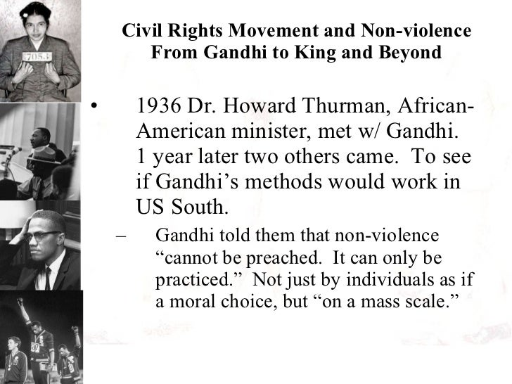 Gandhi Civil Rights Movement Civil Rights Movement And