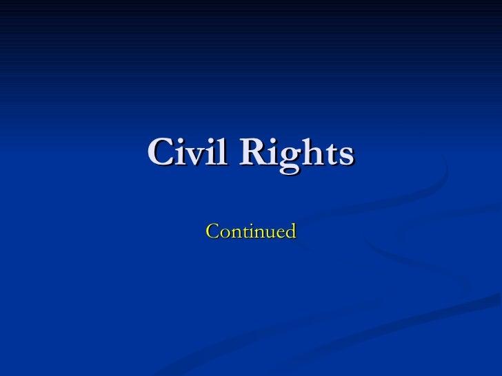Civil rights update1