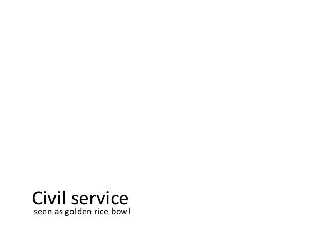 Civil service / Wicked problems in China
