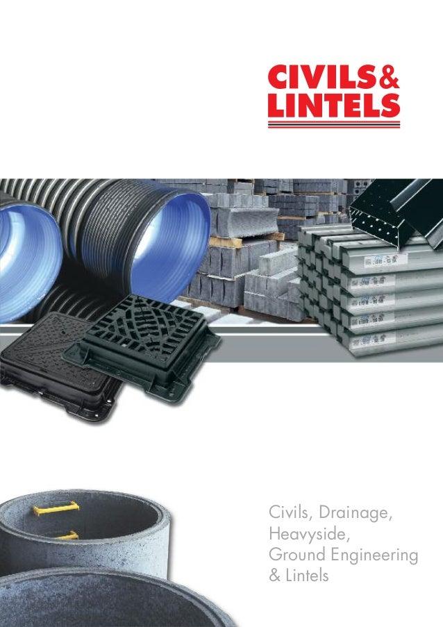 Civils & Lintels - Civil Engineering Products