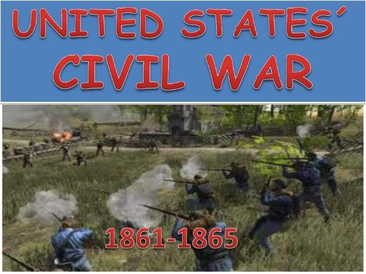 UNITED STATES´ CIVIL WAR<br />1861-1865<br />