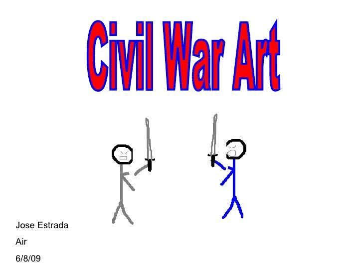Civil War Art Jose Estrada Air 6/8/09
