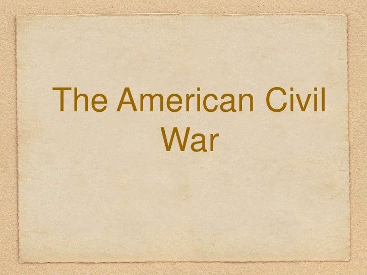 Civil war beginning