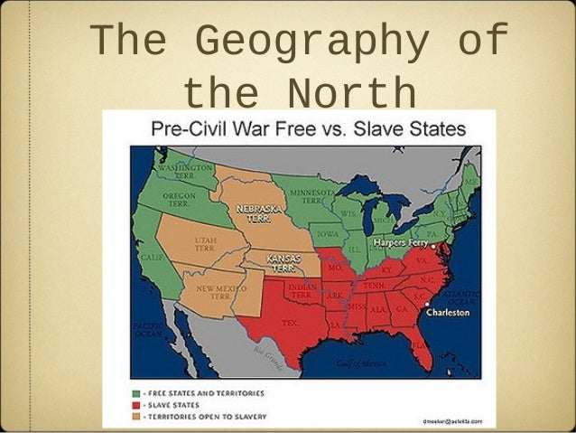 Civil war north and south