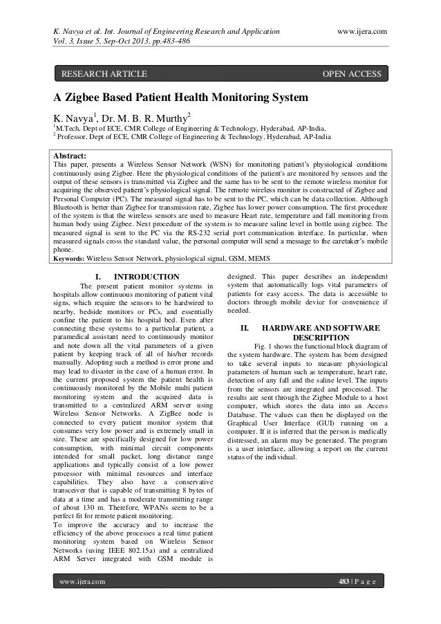 K. Navya et al. Int. Journal of Engineering Research and Application www.ijera.com Vol. 3, Issue 5, Sep-Oct 2013, pp.483-4...