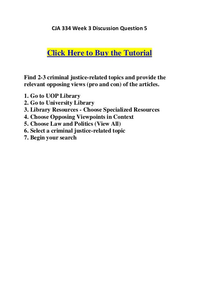 Specialized Databases In Criminal Justice System
