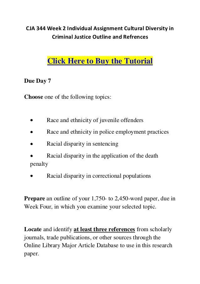 argumentative essay criminal justice