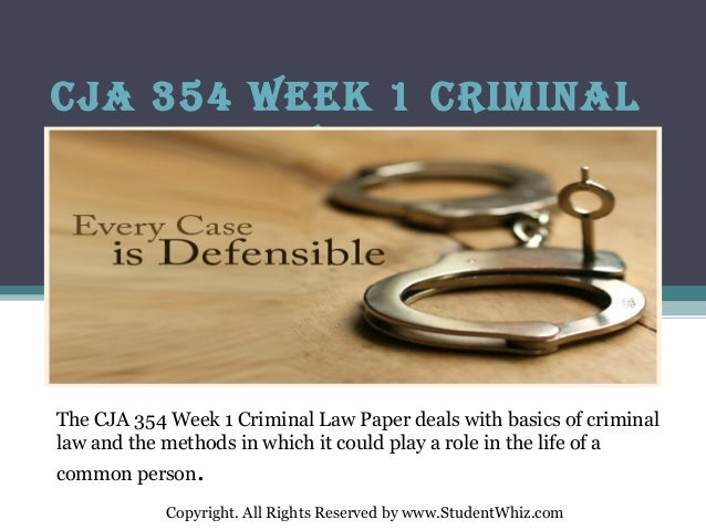 cja 354 week 4 summary Cja 354 week 4 summary cja 354 week 4 team assignment identity theft cja 354 week 4 reading assignment review (100% correct answer) cja 354 week 5 discussion question 1.