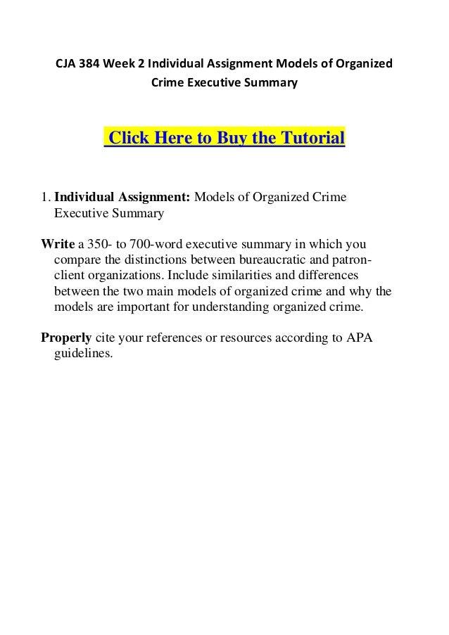 individual assignment mario velazquez cja 384