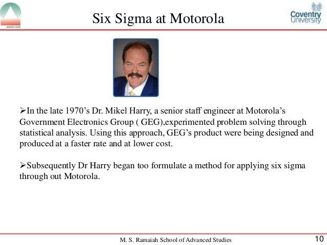 Six Sigma Case Study: General Electric - 6 Sigma Training