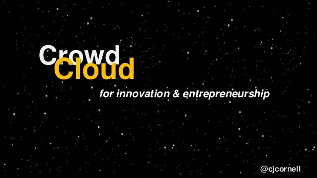 Crowd and The Cloud - SkySong Connect - CJ Cornell