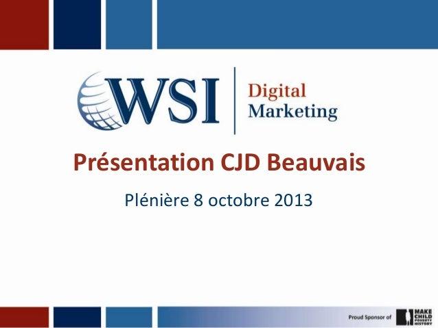 Présentation CJD Beauvais Plénière 8 octobre 2013