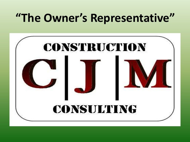 CJM Construction Consulting Presentation