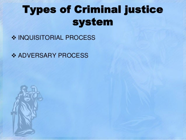 Essay on the criminal justice system
