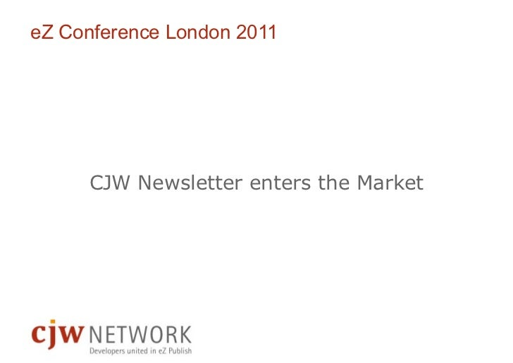 CJW newsletter london2011