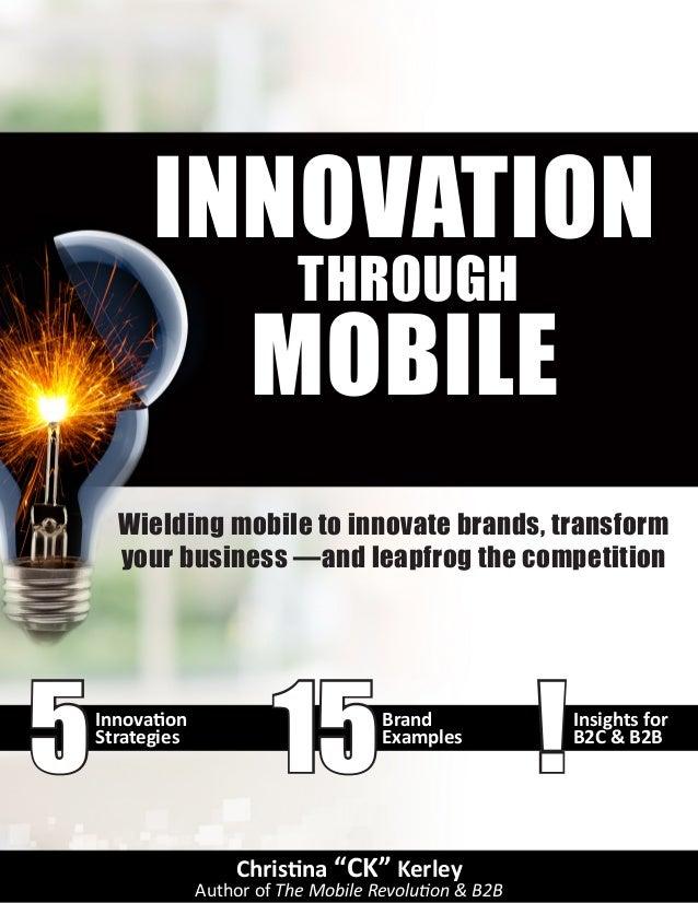 Innovation through Mobile (eBook)