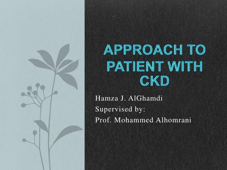 Hamza J. AlGhamdiSupervised by:Prof. Mohammed Alhomrani