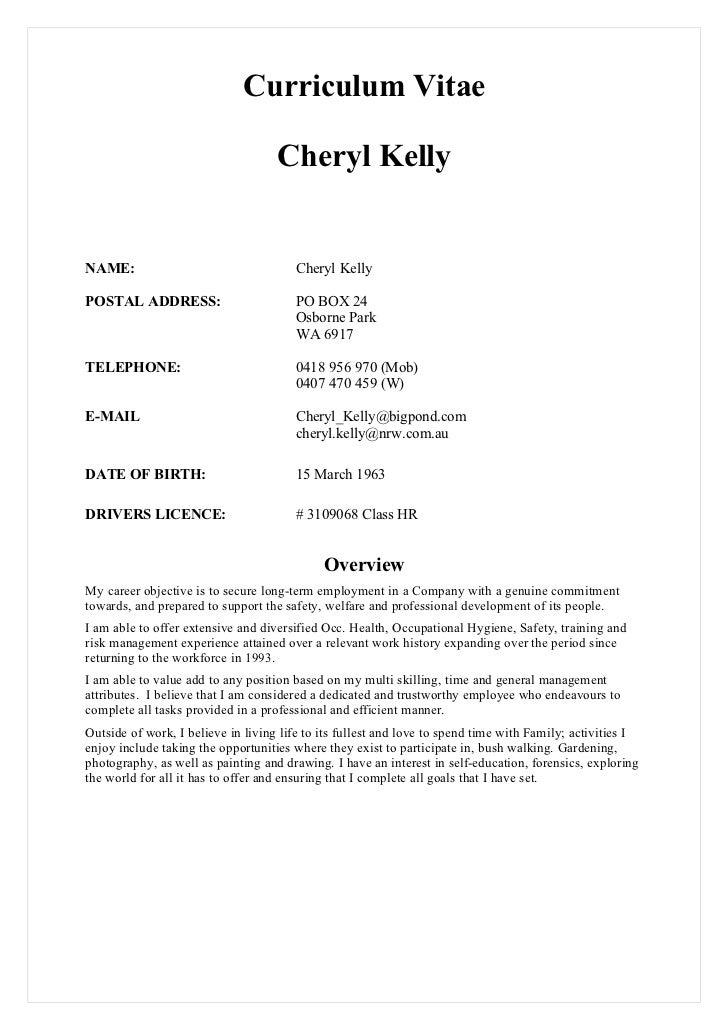 C Kelly Cv 25.01.11