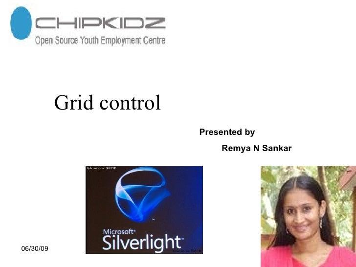 gid controls in silverlight 2.0