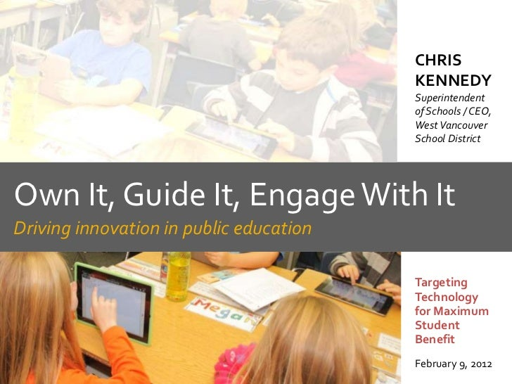 Driving Innovation in Public Education