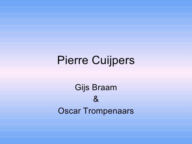 Ckv Pierre Cuypers opdracht