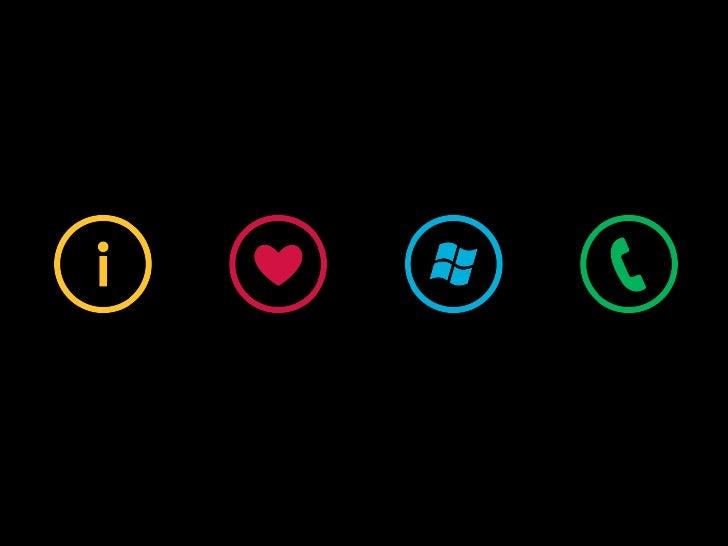 Windows Phone UI and Design Language