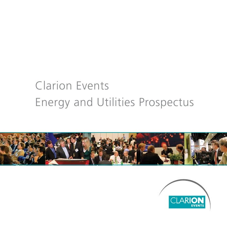 Clarion Events Energy and Utilities Prospectus