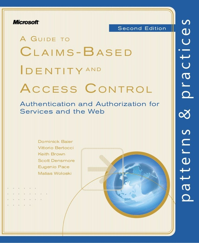 Claims based identity second edition device