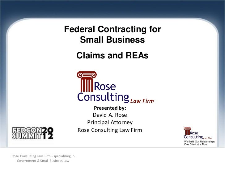 Federal Contracting for                                      Small Business                                             Cl...