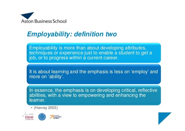 What should I do to increase my employability?