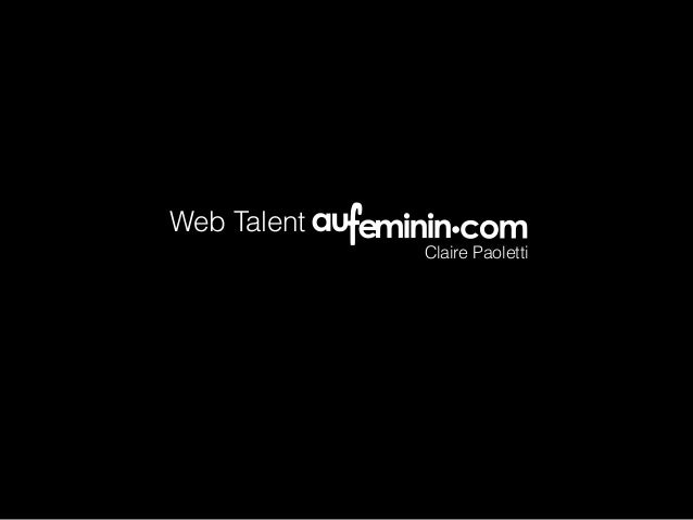 Web Talent Claire Paoletti
