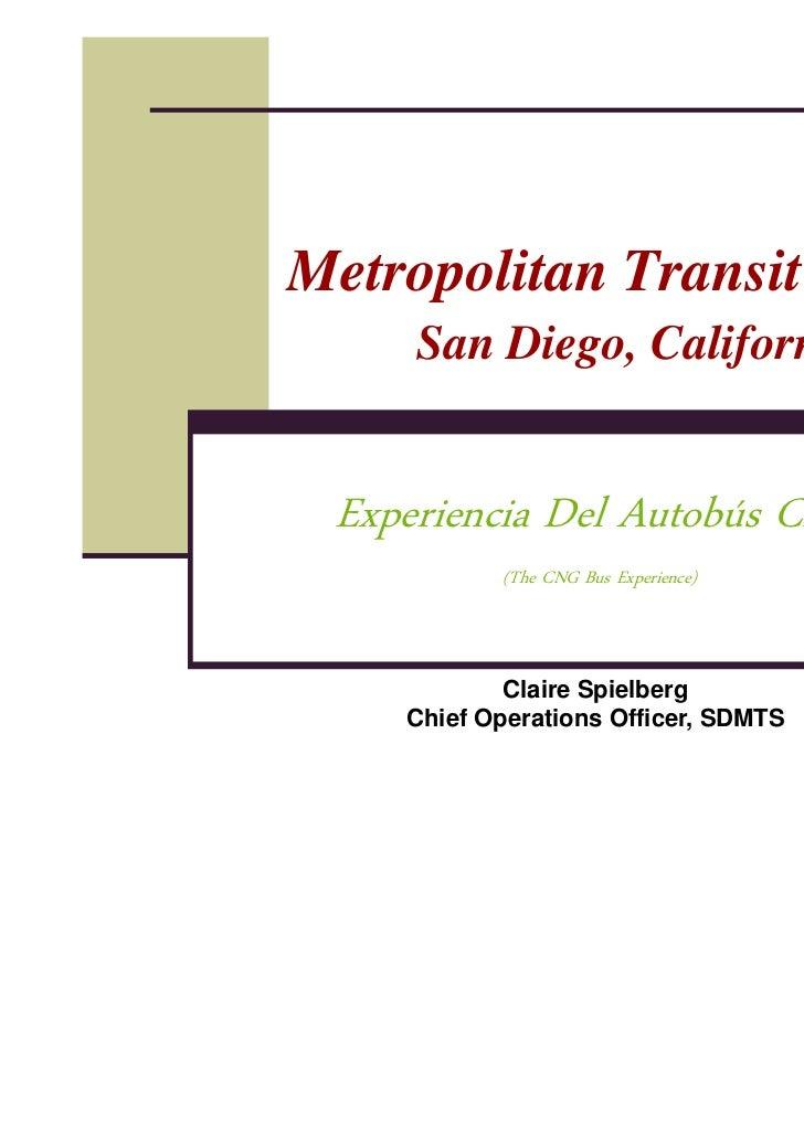 Metropolitan Transit System. San Diego California