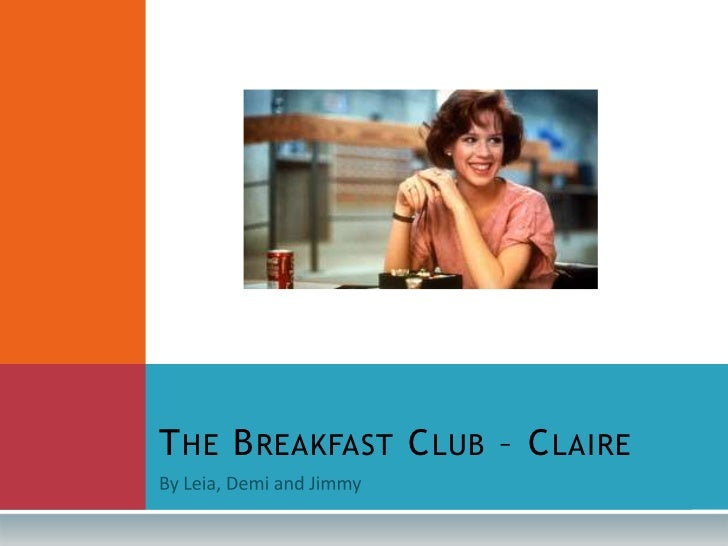 Claire the breakfast club