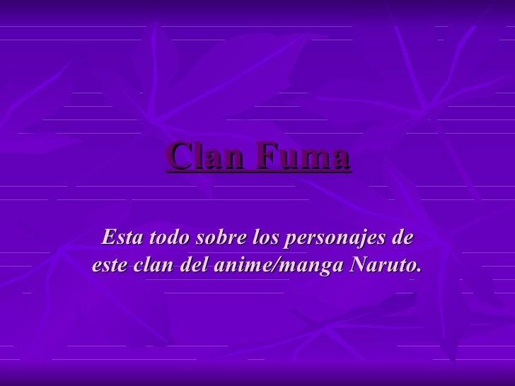 Clan fuma