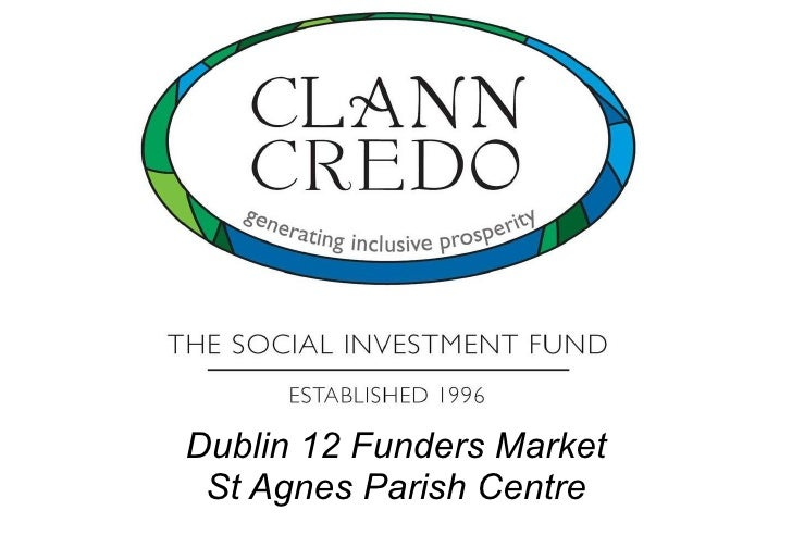 Mapping the Third Sector Dublin 12 Funders Market St Agnes Parish Centre