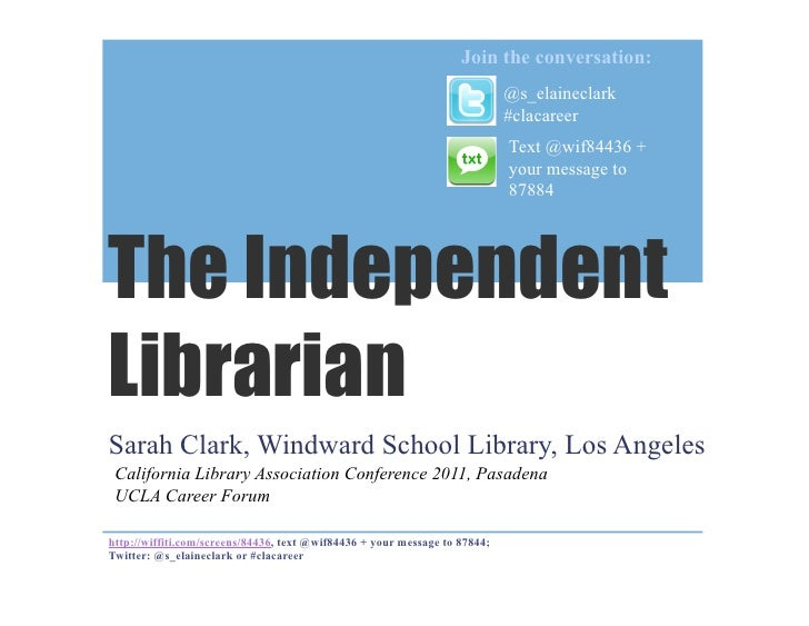The Independent Librarian: life at a private school library