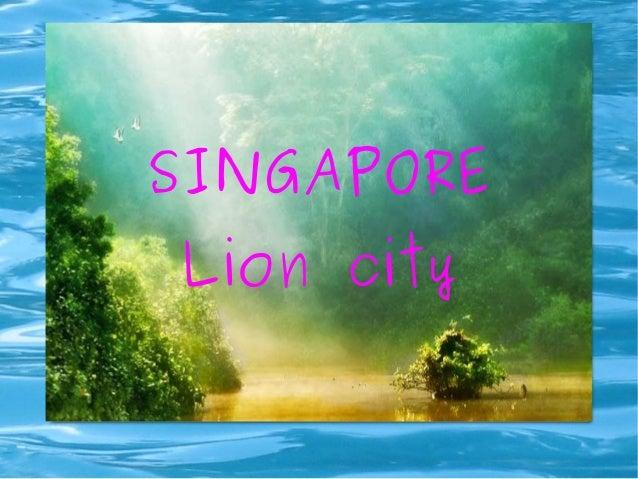 WETUWE SINGAPORE Lion city
