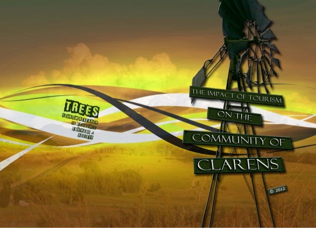 The impact of tourism on the community of Clarens